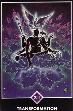 Transformation (Death) - Osho Zen Tarot