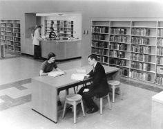 Topeka Public Library,c. 1960.