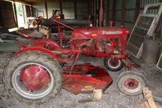 Be Ready For Spring: 1949 Farmall Cub - http://barnfinds.com/be-ready-for-spring-1949-farmall-cub/