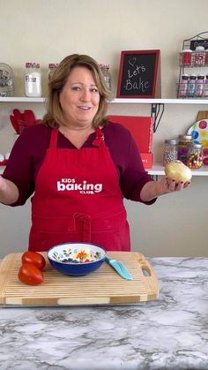 4 tips to make sure that you have no tears when cutting onions. Join me at Kids Baking Club for more tips, recipes and baking classes.