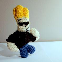 #amigurumi / #amigurumijohnnybravo / #johnny #bravo / #johnnybravo / szydełkowy Johnny Bravo #amigurumis #crochet