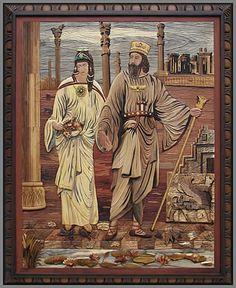 Darius I (the Great), king of Persia 522 BC-486 BC