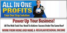 Do you want to create your Own Webpage with all the Web Tools free at hand? This product has all that and much, much more to offer and you can make money with it and promote your own businesses as well. Want to find out more, just visit my link here...http://www.allinoneprofits.com/?id=Chingle