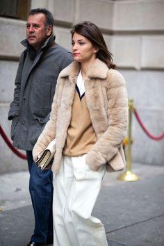 Maria Duenas Jacobsin aCeline sweater