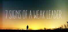 Weak Leader