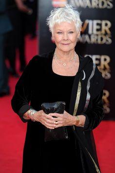 Judi Dench Photos: Olivier Awards 2014  ||  Judi  Dench  (born 9 December 1934) -  http://en.wikipedia.org/wiki/Judi_Dench
