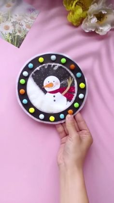 Preschool Christmas, Christmas Ornament Crafts, Snowman Crafts, Christmas Activities, Christmas Projects, Preschool Crafts, Kids Christmas, Holiday Crafts, Diy Paper