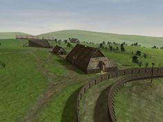 Yeavering anglo-saxon hall