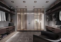 30 Walk-in Closet Ideas For Men Who Love Their ImageStudioAflo   Interior Design Ideas   StudioAflo   Interior Design Ideas