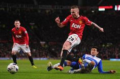 Buttner getting some First Team play time vs. Reading
