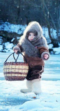 Het heeft met de winter te maken en is super cute <3