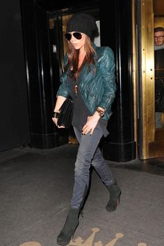 Le look de Victoria Beckham en février 2011