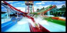 Wet'n'Wild on the Gold Coast in Queensland, Australia