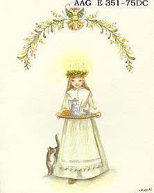 """""""Santa Lucia"""". - The World of Tasha Tudor"""