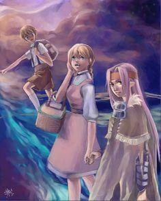 CC: A Promised Journey Oekaki by eri-yisu