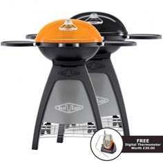 BeefEater Bugg Portable Charcoal BBQ