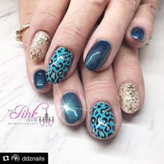 """25 Likes, 1 Comments - ThePinkDoorBoutiques&NailSalon (@the.pinkdoor) on Instagram: """"#Repost @ddznails ・・・ What a great color combination 🍁you can find me…"""""""