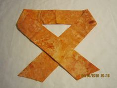 """Extra Wide 3"""" Reusable Non-Toxic Cool Wrap / Neck Cooler  - Tones and Marbled - Orange by ShawnasSpecialties on Etsy"""