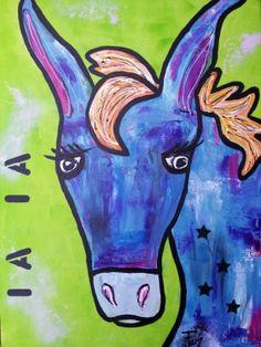 Ezel Donkey Donkey, Moose Art, Paintings, Artwork, Animals, Work Of Art, Animales, Paint, Auguste Rodin Artwork