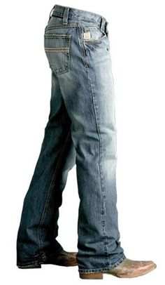 Departments - Mens Cinch Carter Relaxed Fit Boot Cut Jeans