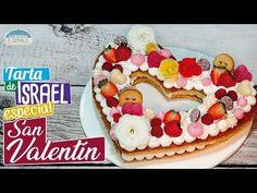 Tarta de San Valentín - Tarta de Israel tendencia 2018 - Recetas paso a paso, tutorial - YouTube