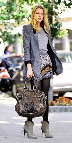 When she took preppy chic to a whole 'nother level. Serena Van Der Woodsen style.