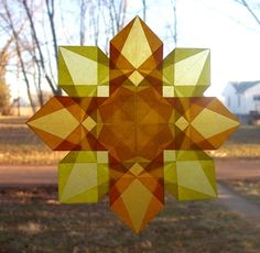 Advanced Tissue Paper Window Star