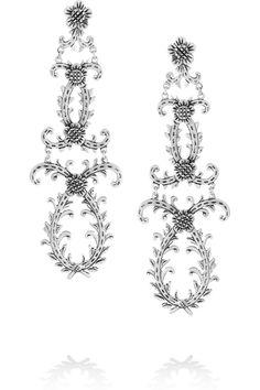 Laurent Gandini|Ghirlanda sterling silver earrings|NET-A-PORTER.COM, $720