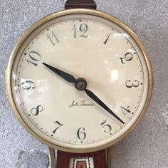 "1950's Seth Thomas Homestead Clock 24 1/2"" x 6 1/2"" x 2 3/4"""