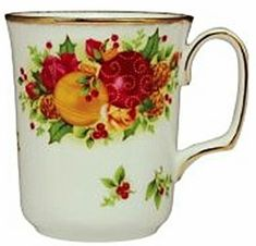 Royal Albert Old Country Rose Holiday Collection - 2006