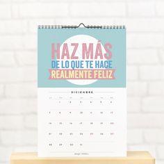 Mr.Wonderful: Calendario de pared - 2015 promete ¡A por él!