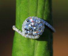 Diamond, Antique & Handmade Engagement Rings - love round rings