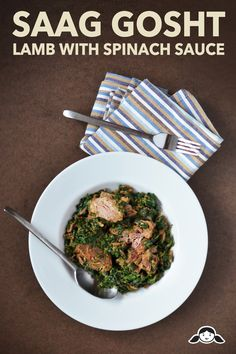 Saag Gosht (Lamb with Spinach Sauce) by Michelle Tam http://nomnompaleo.com