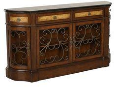 PUL-704255 - Pulaski Credenza | Mathis Brothers Furniture