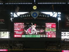 Why is it so quiet at Chase Field? You could film a cell phone commercial there.