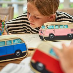 ON SALE NOW for a limited amount of time - our awesome Volkswagen Pencil cases.  Available in blue, pink and red.  Stationery never looked so cool. #TheMonsterFactory #Volkswagen #VWCamper #CamperVan #VWBulli #VolkswagenFan #VWFan #CamperFan #Work #Office #School #BackToSchool #Sale #Discount #Red #Blue #Pink #Buy #Gift #Present #Art #Draw #Create #Travel #Outdoors #Indoors #Iconic #Retro #Throwback #Kids #Adults #Girl #Boy #Man #Woman