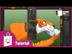 Brown Bag Films Tutorial   ZBrush Curves for Texture