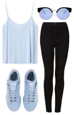 """Simple Style"" by maevaxstyle ❤ liked on Polyvore featuring Monki, adidas, Topshop and ASOS"