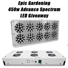Win a 450w LED GrowAce Light Panel System #Sweepstakes a $595 value! #growlight #gardening Ends 10/1/15.