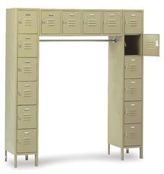 Used lockers for sale by American Surplus Inc. Lockers For Sale, Used Lockers, Door Locker, Half Doors, Personal Storage, Filing Cabinet, Furniture, Home Decor, Decoration Home