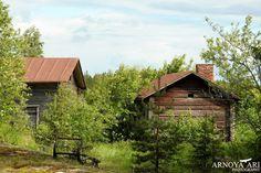 Rajaniemi,talo sauna, risteys,reki,Pyhäjoki municipality