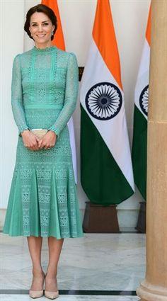 Kate Middleton e i look del suo viaggio in India - VanityFair.it