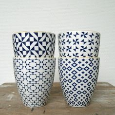 Mugs Geometric - Tokyop Design Studio - Accessorize your Home