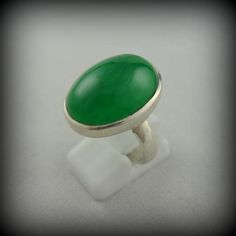 Green Jade Ring. Shankar Deadwood, SD. I love bold pieces to go with my black white grey wardrobe.