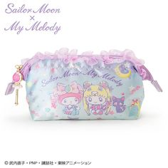 My Melody xSailor Moon wire pouch Sanrio Kawaii Japan f/s
