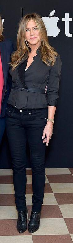 Jennifer Aniston wearing Jacket – Louis Vuitton Jeans – J Brand Shoes – Alaia Jennifer Hudson, Jennifer Connelly, Kate Hudson, Jennifer Garner, Jennifer Aniston, Kate Winslet, Kate Beckinsale, Louis Vuitton Jeans, Fashion Dictionary