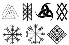 vikings lovely nails in hazard ky - Lovely Nails Nordic Symbols, Magic Symbols, Viking Symbols, Viking Runes, Ancient Symbols, Viking Tattoo Symbol, Norse Tattoo, Viking Tattoo Design, Simbolos Tattoo