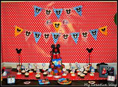 """Mickey Mouse Oh """"Two""""dles Birthday Party"""