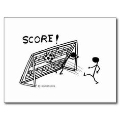 For all of my soccer loving piano students.