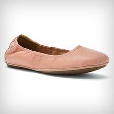 New Clarks Women's GRAYSON ERICA Faded Rose Leather Ballet Flat 68473 #